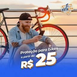 Proteção  total para voce e sua bike