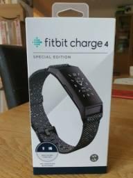 Smartband Smartwatch Fitbit Charge 4 Edição Especial Granite