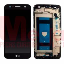Tela Display Lcd Touch Frontal Lg K10 Power M320 M320tv Preto