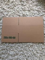 Título do anúncio: Caixa de Papelão - 28x19x9- pacote com 20 unidades.