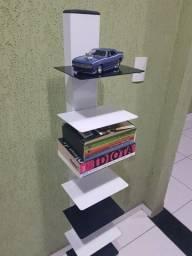 Prateleira / estante para livros, CDs, DVDs ou miniaturas