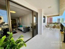 Apartamento com 120m², 3 quartos, 2 vagas - Miramar