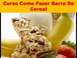 Aprenda a Fazer Barra de Cereal - Curso Novo!