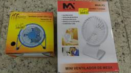 Atacado e Varejo Mini Ventilador de Mesa - (27) 99836 - 7816