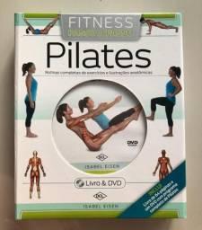 DVD Pilates Fitness Passo a Passo