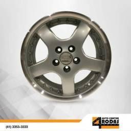 Roda ARO 15 5X100 Binno R-110 Prata Polida