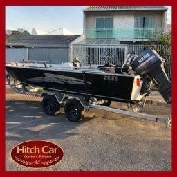 Aproveite, só hoje! Carretinha trucada para barco de 6m Hitch Car