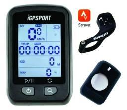 Ciclocomputador Gps Igpsport Igs20e Bike Strava + Capa+ Sram
