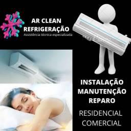 Promoção de instalação e manutenção de ar condicionado