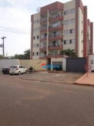 Apartamento com 3 dormitórios para alugar, 80 m² por R$ 1.780,00/mês - São Cristóvão - Por