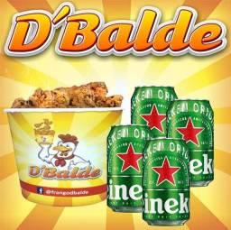 Frango Frito no Balde! Bertioga! Peça já!!! D'Balde