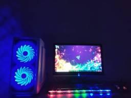 PC Gamer Completo i5 3470 8GB de Ram Placa de Video RX 550 4GB ddr5 Parcelo