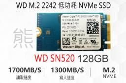Ssd M.2 128gb Wd Western Digital Sn520 - Nvme 2242