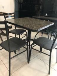 7 mesas + 20 cadeiras NOVAS