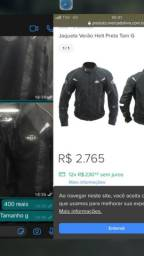 Jaqueta de couro HELT