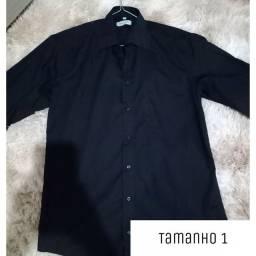 Camisas pretas
