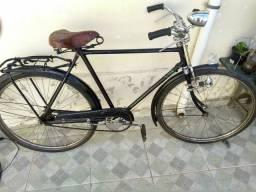 Bicicleta antiga Hércules inglesa aro 28 muito bem conservada TD óriginal