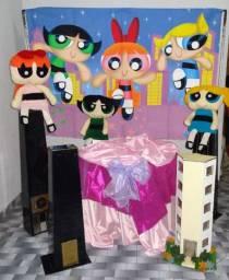 Meninas super poderosas - decoração