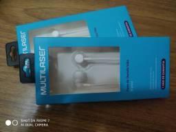 Fone de Ouvido Vibe Branco Multilaser - PH323 100% Original