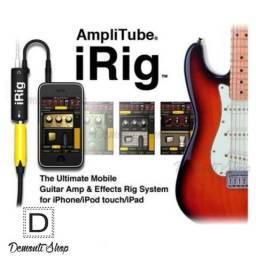 Irig Amplificador De Guitarra Amplitube Pra iPhone iPad iPod