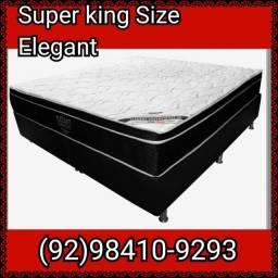 Cama Box Super King Molas Ensacadas