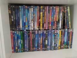 Dvd's novos e usados.