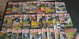 Revista Motociclismo - Coleção 40 edições