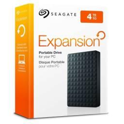 Hd Externo Seagate 2.5 - USB 3.0 - 4Tb - Novo - Pronta Entrega