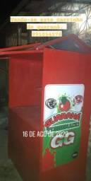 Carrinho de guaraná