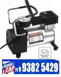 Compressor De Ar Veicular Profissional Portatil 12v Carro LE-975