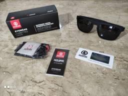 Óculos de sol masculino com lente polarizada