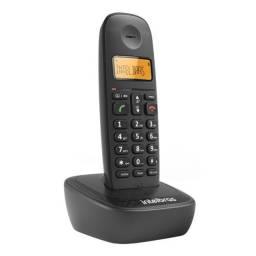 Telefone Sem Fio Intelbras TS 2510 ID Identificador de Chamadas Preto