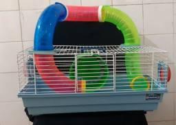 Gaiola para Hamsters Bragança com tubos
