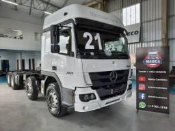 Mercedes Benz Atego 3030 8x2 2021 Bitruck Mb 3030