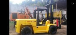 Título do anúncio: Empilhadeira Hyster 155 XL diesel MWM 7 tons