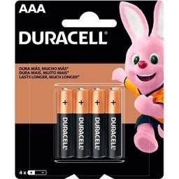 Pilha Alcalina Pequena AAA Duracell - 2 Un
