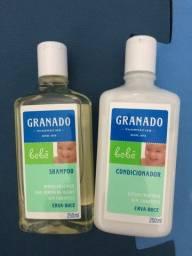 kit shampoo e condicionador granado