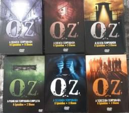 Coleção de dvd oz