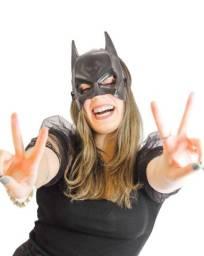 Título do anúncio: Máscara Do Batman Plástico Super Herói Com Tira Ajustável