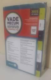 Vade Mecum Saraiva 23ª Edição - 2021 Compacto (Atualizado e Lacrado)