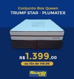Conjunto box queen conjunto box queen que está na promoção..1399 a vista