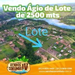 Oferta ! Ágio de Lote de 2500 mts já escriturado no Lago Corumbá IV