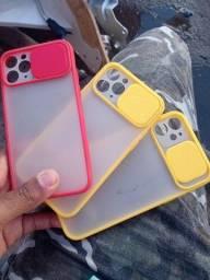 case Protetor de câmera iPhone 11 e 11 pró