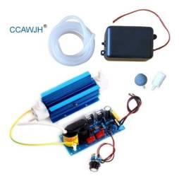 Gerador De Ozônio 3000mg/h 3g Aletado Dissipador Azul