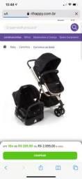 Carrinho de bebê Safety rose