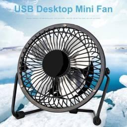 Ventilador usb mini portátil mudo ventilador de mesa