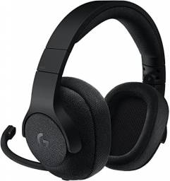 Fone de ouvido gamer Logitech G Series G433 black