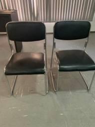 Vendo cadeira cromada