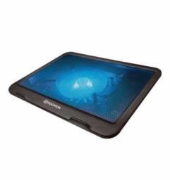 Base Notebook Cooler Led Azul Hoopson Bpn-003 Até 15.6