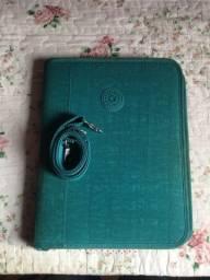Fichário Kipling original verde agua
